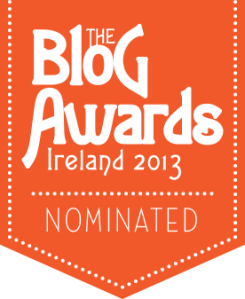 Blog nominated